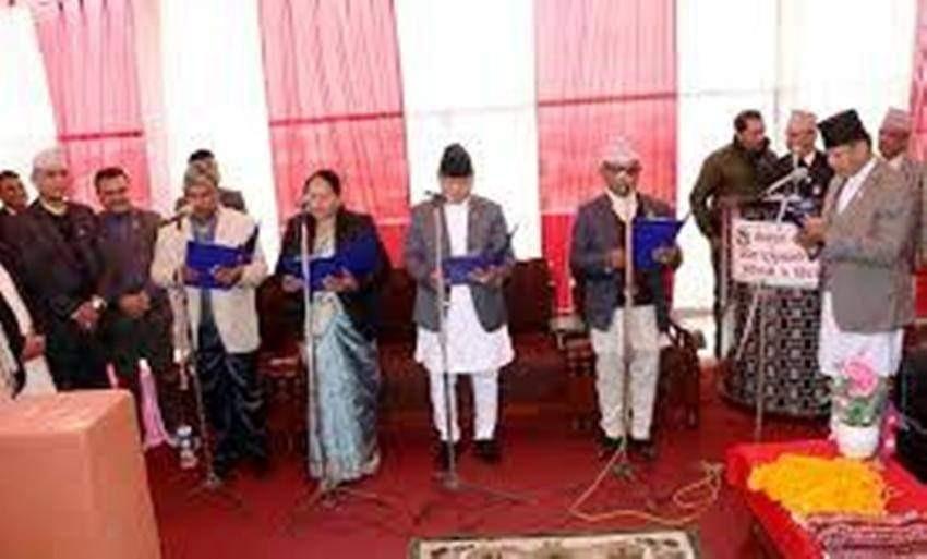 प्रदेश मन्त्रिमण्डल विस्तार : चार राज्यमन्त्री नियुक्त