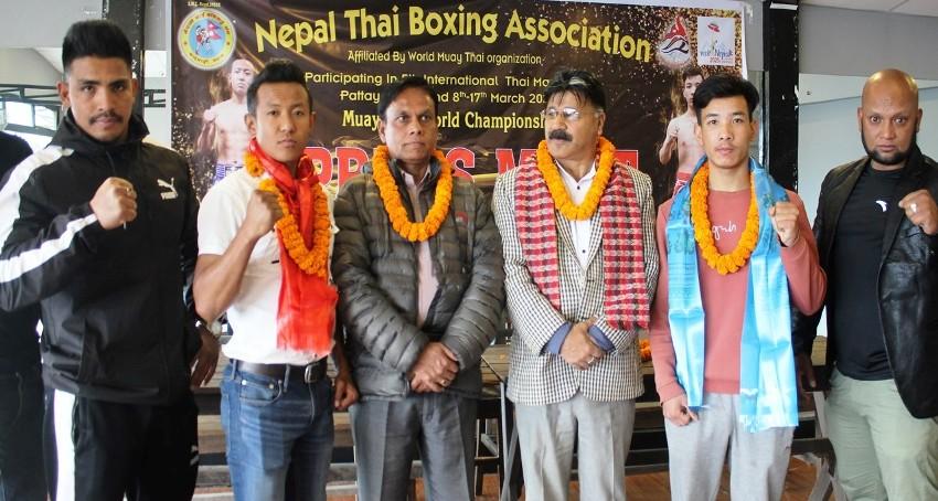 नेपाली खेलाडी थाइल्याण्ड जाँदै