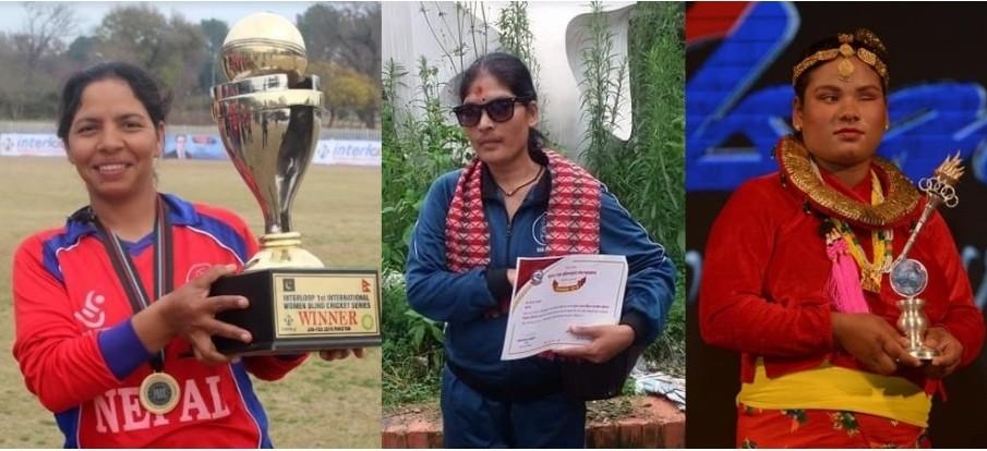 यि ३ दृष्टिविहीन क्रिकेट खेलाडी सम्मानित