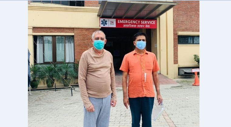 महामन्त्री कोइराला अस्पतालबाट 'डिस्चार्ज'