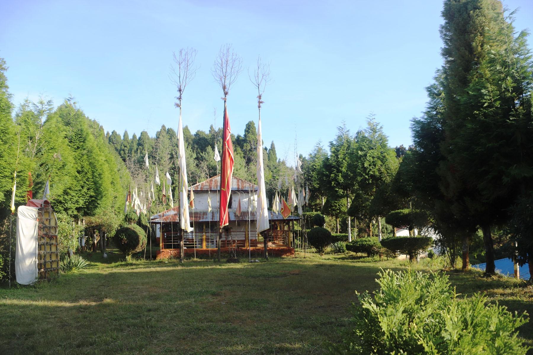 पर्यटकीय गन्तव्य बन्दै पाँचथरकाे  धार्मिकस्थल लब्रेकुटी