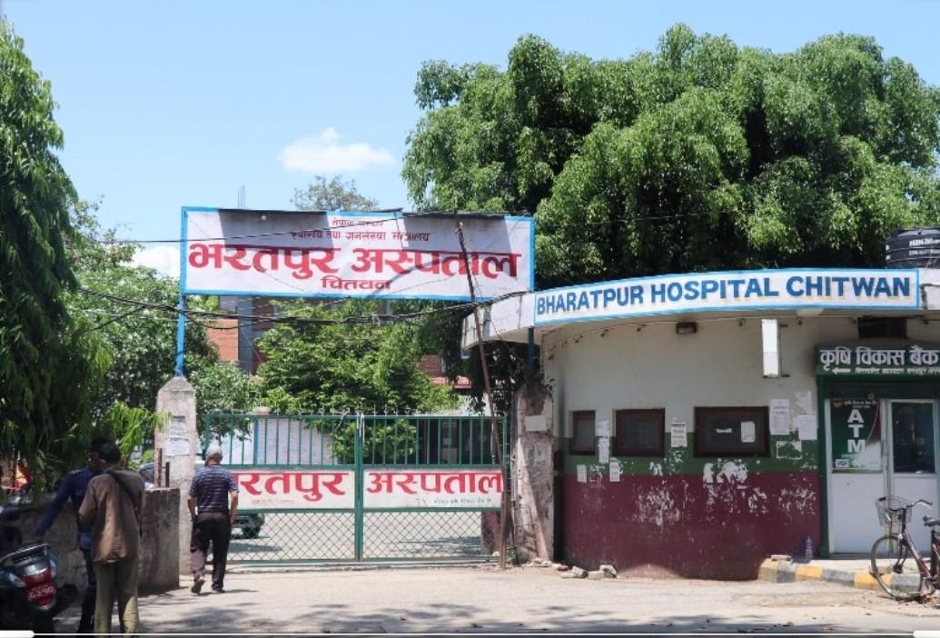 भरतपुर अस्पताल सफाइ अभियान शुरु