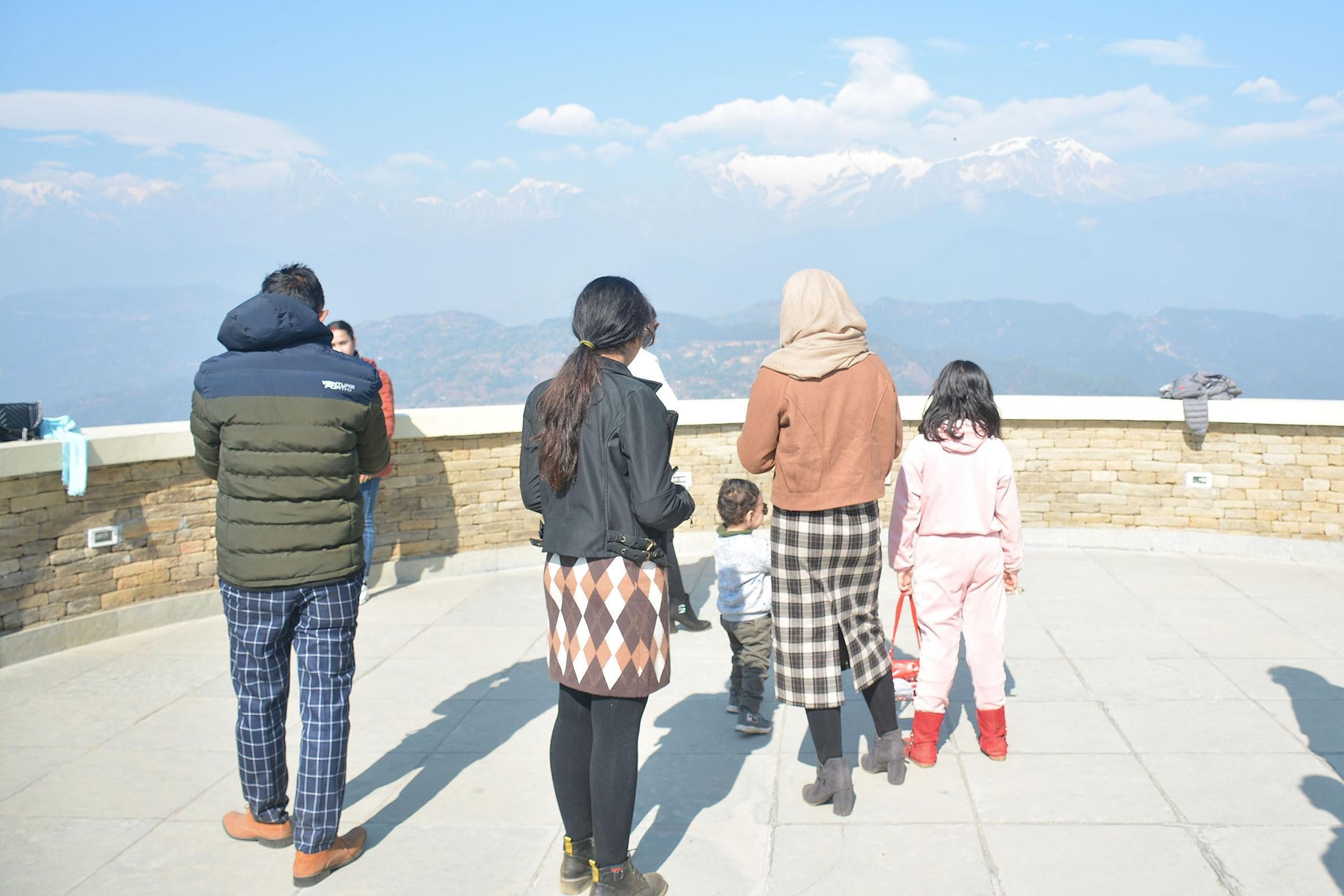रुपाकोट रिसोर्टमा आन्तरिक पर्यटक