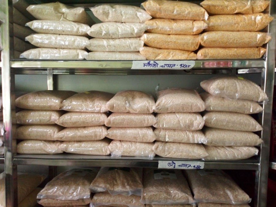 खाद्य कम्पनीको प्रादेशिक गोदाम सिल