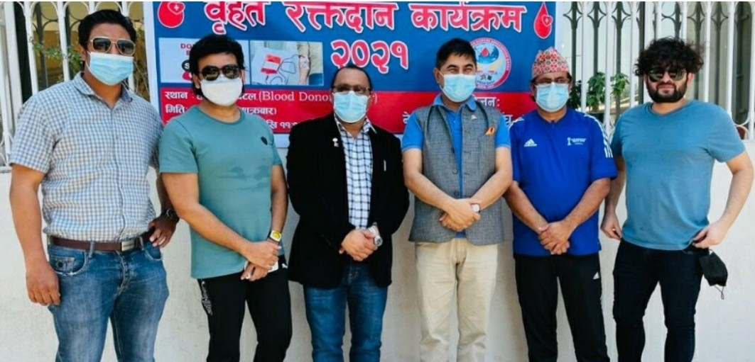 नेपाली रक्तदाता सङ्घ कतार द्वारा रक्तदान कार्यक्रम सम्पन्न